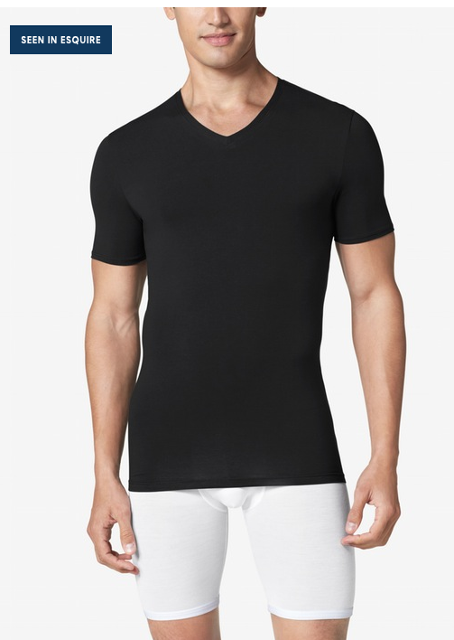 Cool Cotton High V-Neck